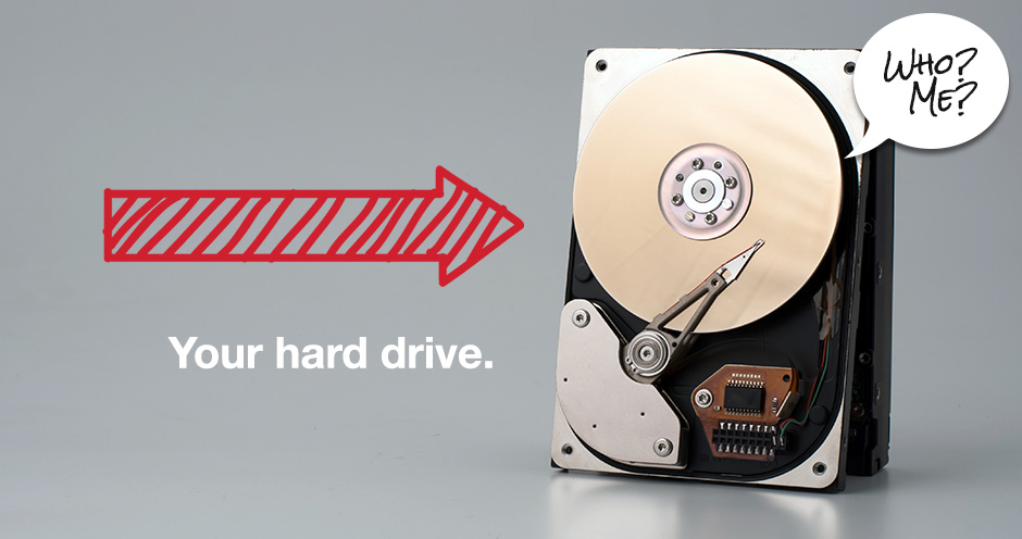 Your hard drive is slowing you down
